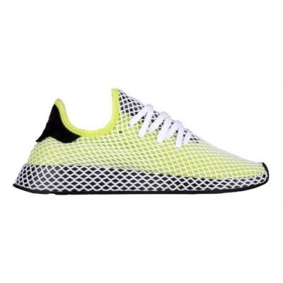 アディダス メンズ adidas Originals Deerupt Runner スニーカー ランニングシューズ Semi Solar Slime/Black/Black