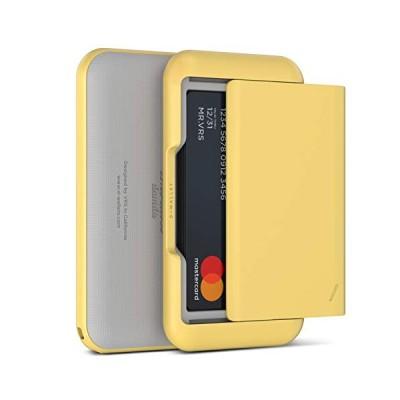 VRS DESIGN カードケース スライド式 大容量 カードホルダー ネックストラップ 付 磁気防止 スキミング防止 カード 付 D.Wa
