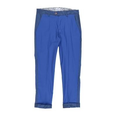 JOHN TWIG パンツ ブルー 9 コットン 97% / ポリウレタン 3% パンツ