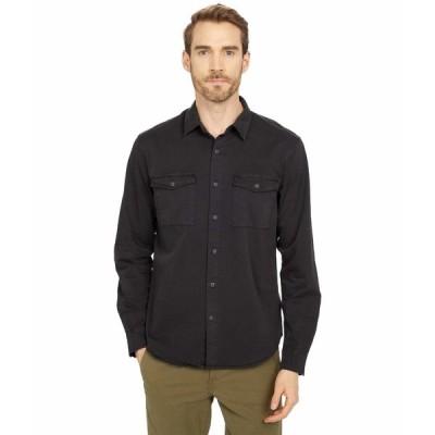 ラッキーブランド シャツ トップス メンズ Monroe Workwear Shirt Washed Black