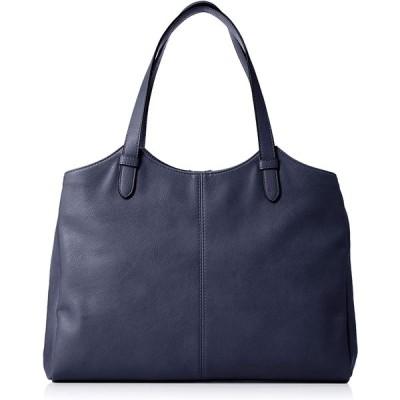[ベリーサ ファッチュラ] A4サイズ対応革のような風合いビジネストートバッグ 8305 ネイビー