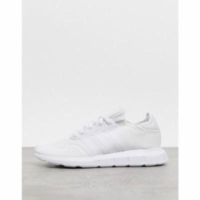アディダス adidas Originals メンズ スニーカー シューズ・靴 Swift Run X Trainers In Triple White ホワイト