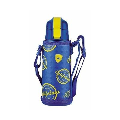 パール金属 キッズチャージャー ダイレクト ボトル 600 スターポーチ付 HB-2797 ブルー サイズ:(約)幅8×奥行9×高