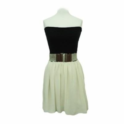 Parl masel Princess balloon skirt with a belt パールマシェール プリンセス バルーン スカート ベルト付き 064854【中古】