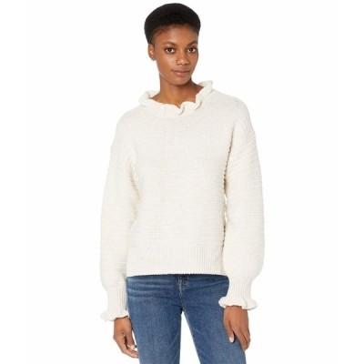 メイドウェル ニット&セーター アウター レディース Ruffle Neck Pullover Sweater Heather Oak