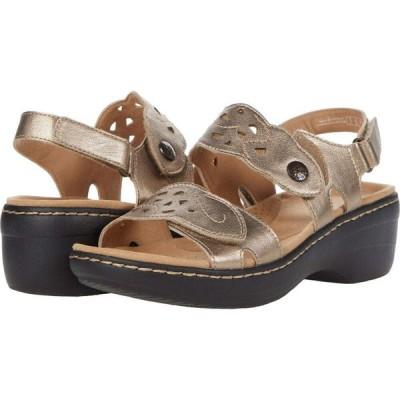 クラークス Clarks レディース サンダル・ミュール シューズ・靴 Merliah Dove Metallic Leather