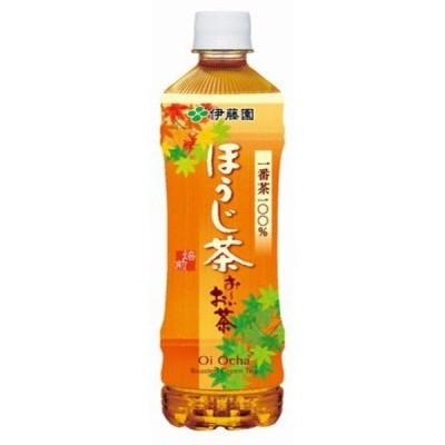 〔まとめ買い〕伊藤園 おーいお茶 ほうじ茶 ペットボトル 525ml×24本(1ケース)