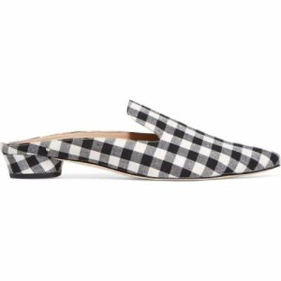 サム エデルマン SAM EDELMAN レディース スリッパ シューズ・靴 augustine gingham canvas slippers Black