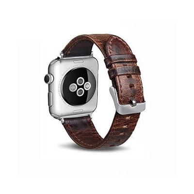 Apple Watch バンド 38mmアップルウォッチ交換バンド42mm Apple Watch革ベルト 柔らかい高級 牛革スマートウォッチ 時計バ