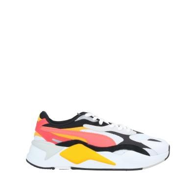 プーマ PUMA スニーカー&テニスシューズ(ローカット) ホワイト 8.5 紡績繊維 / 革 スニーカー&テニスシューズ(ローカット)