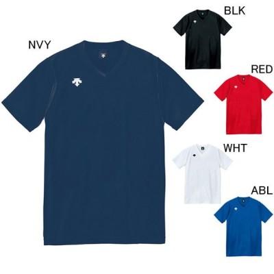 デサント バレーボール ユニホーム ゲームシャツ V首半袖ゲームシャツ ユニセックス DESCENTE DSS-4321