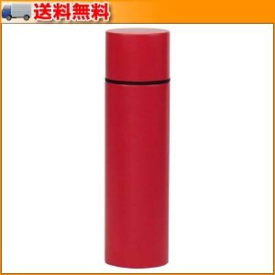 リップスティックボトル(190ml) レッド 52103 ▼口紅のような形をしたステンレスボトル