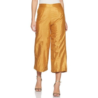 W for Woman Women's Relaxed Pants (16AU60198-58208_Yellow_8)