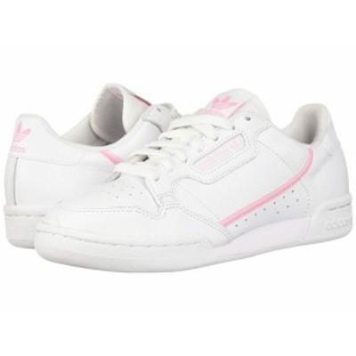アディダス レディース スニーカー シューズ Continental 80 Footwear White/True Pink/Clear Pink