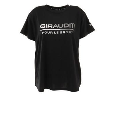 Tシャツ レディース 半袖 ドライ 吸汗速乾 UVカット メッシュシャツ 864GM1CD6678 BLK