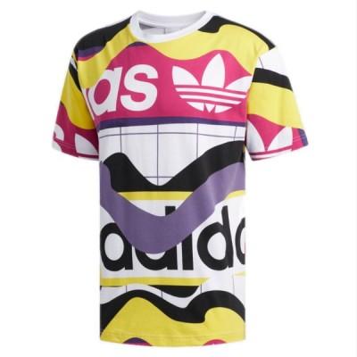 アディダス adidas Tシャツ メンズ 大きいサイズ オリジナルス ビッグサイズ 半袖 カタログプリント Tシャツ USA企画 海外直輸入 FM1553