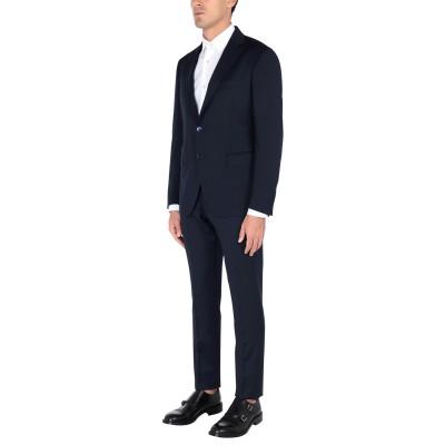 BAGNOLI Sartoria Napoli スーツ ダークブルー 52 バージンウール 100% スーツ