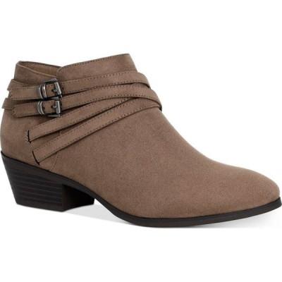 スタイル&コー Style & Co レディース ブーツ シューズ・靴 Willoww Booties Truffle Taupe Micro