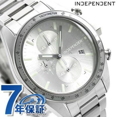 インディペンデント メンズ 腕時計 スポーティ クロノグラフ BA7-115-91 INDEPENDENT シルバー