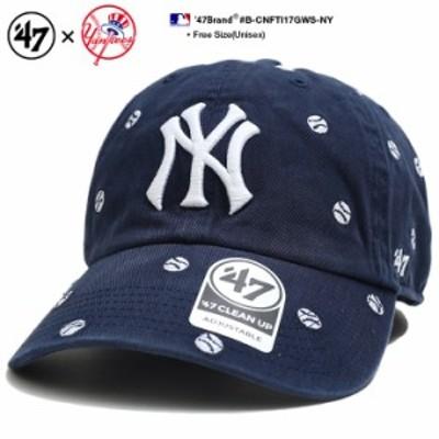 フォーティーセブンブランド 47BRAND 帽子 ローキャップ ボールキャップ CAP メンズ レディース 紺 b系 ヒップホップ ストリート系 ファ
