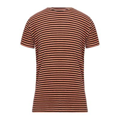 ベルナ BERNA T シャツ ブラウン S レーヨン 100% T シャツ