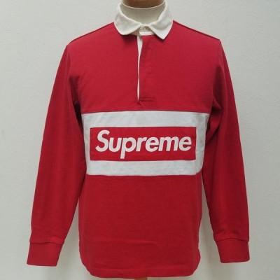 Supreme シュプリーム 長袖 ポロシャツ Polo Shirt Team Rugby Shirt BOXロゴ ラガーシャツ 長袖 ポロシャツ 10015516