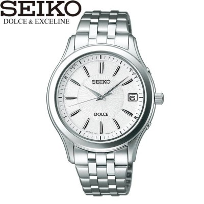 seiko DOLCE セイコー ドルチェ 腕時計 ウォッチ メンズ 男性用 電波ソーラー 10気圧防水 sadz123