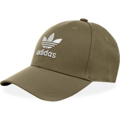 アディダス Adidas メンズ キャップ 帽子 Trefoil Cap Raw Khaki