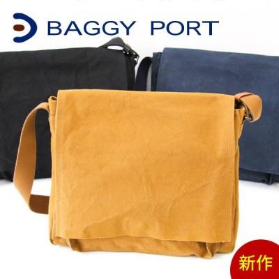 BAGGY PORT バギーポート 6号洗いシンプル ショルダーバッグ GRN-6810