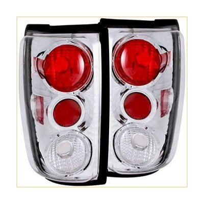 Anzo USA 211055 Ford Expedition Chrome Tail Light Assembly - (Sold in Pairs) 並行輸入品