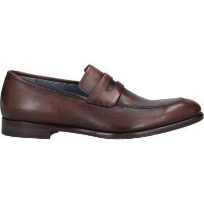 サンピエレ ZAMPIERE メンズ ローファー シューズ・靴 loafers Cocoa