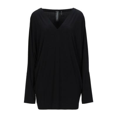 NORMA KAMALI T シャツ ブラック XXS ポリエステル 95% / ポリウレタン 5% T シャツ