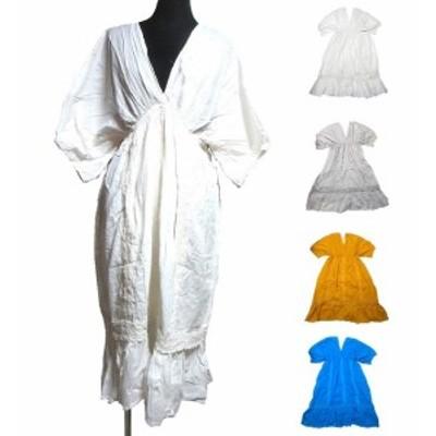 Vカットエスニックワンピースエスニック衣料エスニックアジアンファッション