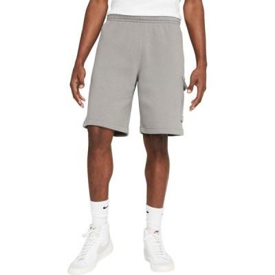 ナイキ Nike メンズ ショートパンツ カーゴ ボトムス・パンツ NSW Club Cargo Shorts Flat Pewter/Flat Pewter/White