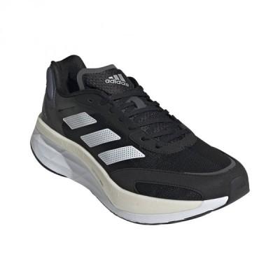 アディダス アディゼロ ボストン 10 ADIZERO BOSTON 10 WIDE GZ5426 メンズ 陸上 ランニングシューズ : ブラック×ホワイト adidas