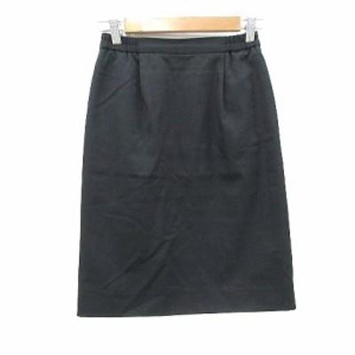 【中古】Venusal タイトスカート ひざ丈 9 黒 ブラック /CT レディース