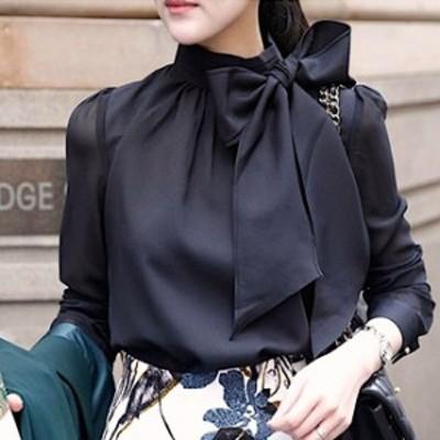 トップス シャツ ブラウス シャツブラウス レディース 黒 ブラック 白 ホワイト 大きいサイズ 体型カバー 結婚式 二次会 パーティー お呼