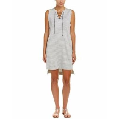 Shift  ファッション ドレス Nesh Lace-Up Shift Dress S