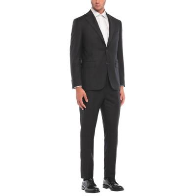 カナーリ CANALI スーツ スチールグレー 52 ウール 100% スーツ