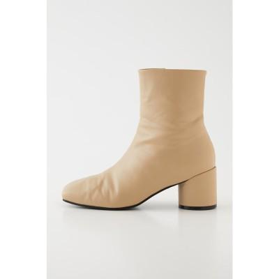 COLUMN HEEL SHORT ブーツ L/BEG1
