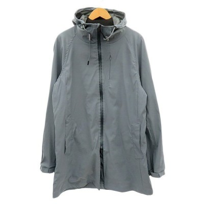 HALHAM ソフトシェルフーデッドコート ブルーグレー系 サイズ:XL (明石店) 200508