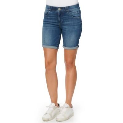 デモクラシー レディース カジュアルパンツ ボトムス Ab Solution Mid Shorts BLUE