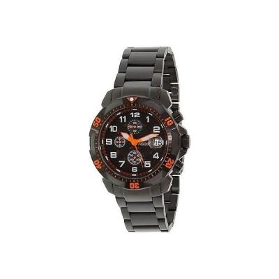 腕時計 プレシマックス Precimax メンズ Defender Pro PX14024 ブラック ステンレス-スチール クォーツ 腕時計