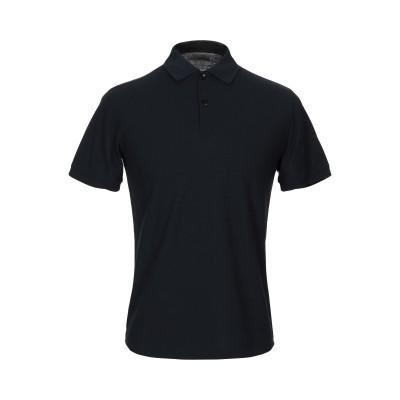 アルマーニ コレッツィオーニ ARMANI COLLEZIONI ポロシャツ ダークブルー XL コットン 100% ポロシャツ
