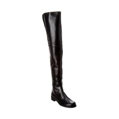 レディース シューズ  Stuart Weitzman Hilo Leather Over-The-Knee Boot