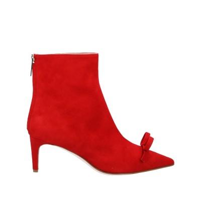 RED(V) ショートブーツ レッド 37.5 革 ショートブーツ