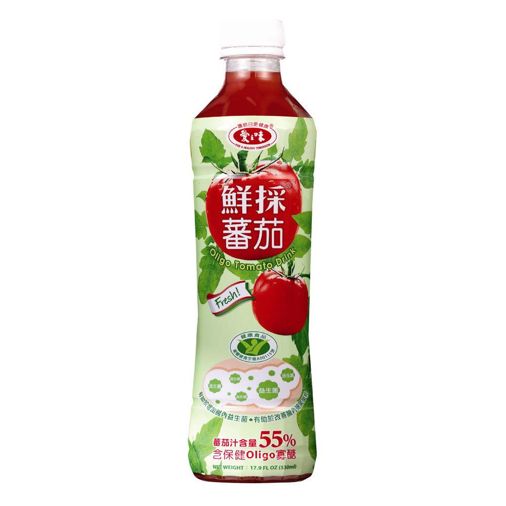 愛之味鮮採蕃茄汁-Oligo腸道保 530ml