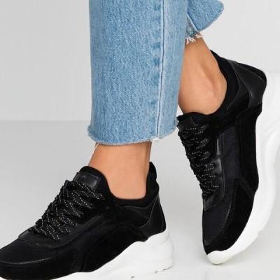 アンナフィールド レディース 靴 シューズ LEATHER - Trainers - black