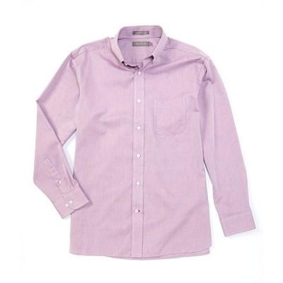 ダニエル クレミュ メンズ シャツ トップス Daniel Cremieux Signature Solid Dobby Long-Sleeve Woven Shirt