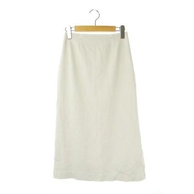 【中古】ロンハーマン Ron Herman Smooth Skirt タイトスカート ロング XS グレー /AO ■OS レディース 【ベクトル 古着】